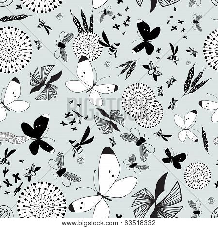 Pattern Butterflies And Moths