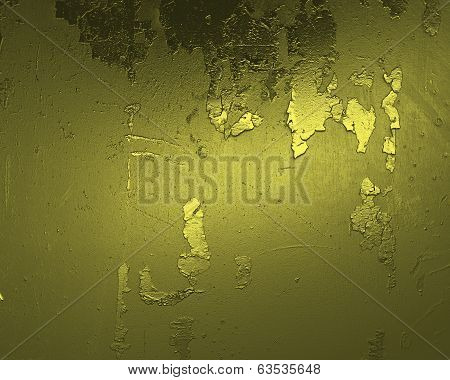 Grunge Gold Texture