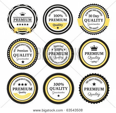 Vintage Quality Guarantee Badges