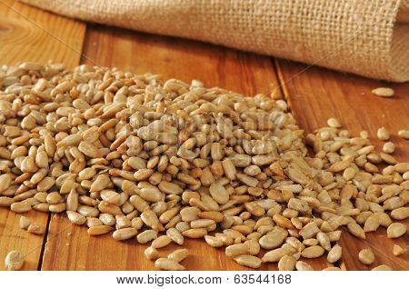 Roasted Organic Sunflower Seeds