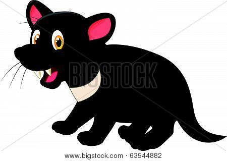 Tasmanian devil cartoon
