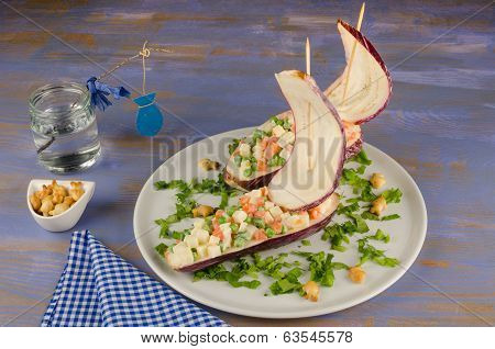 Sailboat Salad