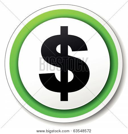 Vector Dollar Sign