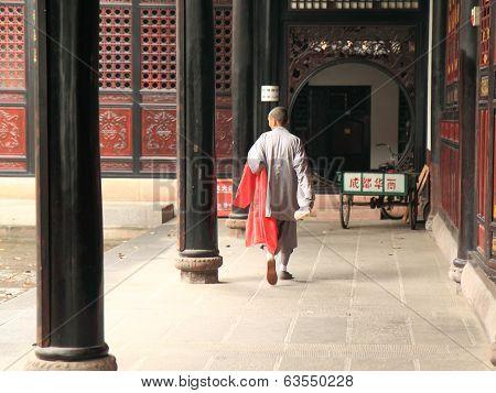 Monk in Chengdu China