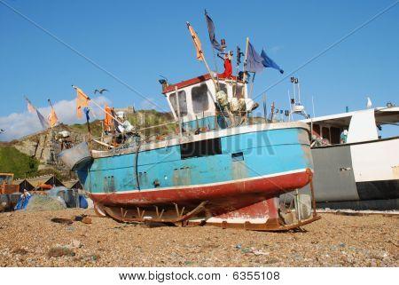 Fishing boat fleet, Hastings