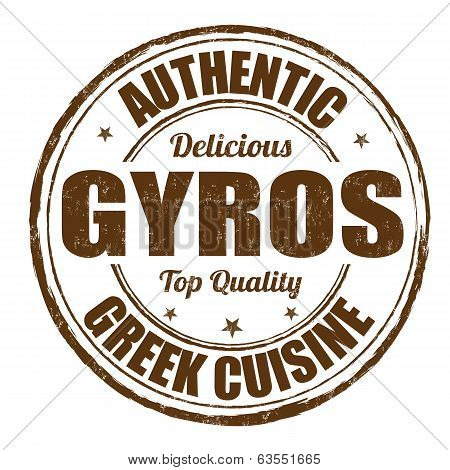 Gyros Stamp