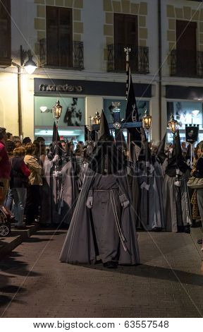 Valladolid Good Friday Night 2014 08