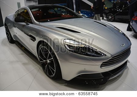 Aston Martin Vanquish At The Geneva Motor Show