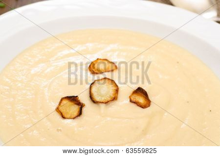 Parsnips On A Pale Soup