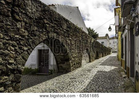 Portuguese Alentejo City Of Évora Old Town.