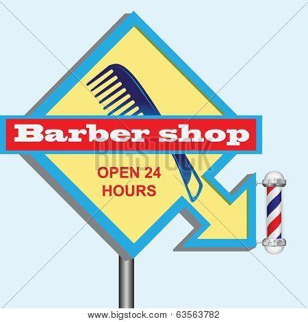 Signboard Hairdresser