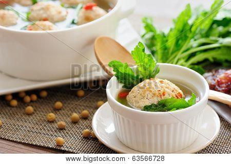 Stuffed Tofu Ball