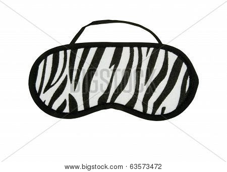 Zebra pattern Eye Mask