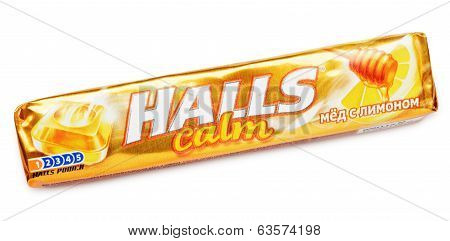 Mentholated Cough Drop Halls Calm