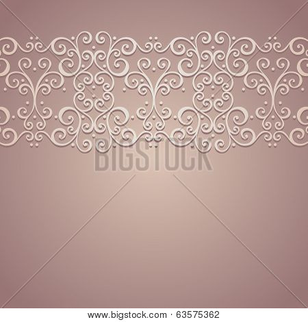 Vector Colored Ornate Background