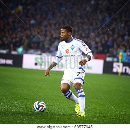Jeremain Lens Of Fc Dynamo Kyiv