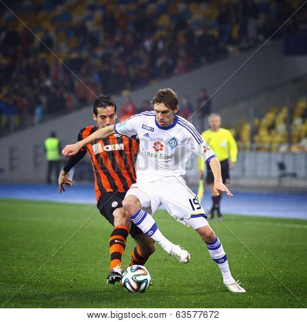 Ukraine Championship Game Fc Dynamo Kyiv Vs Shakhtar Donetsk