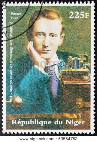 Marconi - Niger Stamp