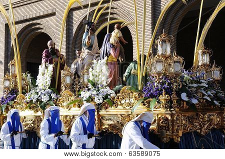 Holy Week In Zaragoza.
