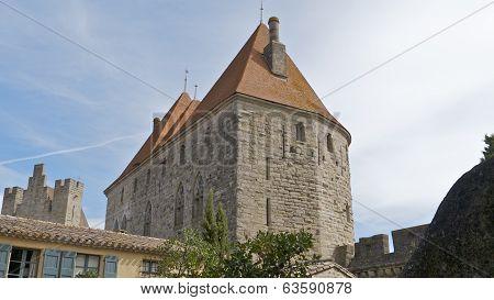 Carcassonne Castle, France.
