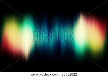 Abstract Aura Background in rainbow tones with space for text