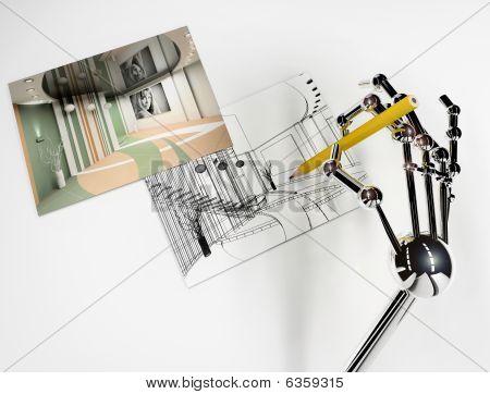 Hand Of Robot