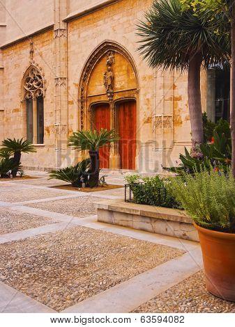 Passeig De Sagrera In Palma Of Majorca