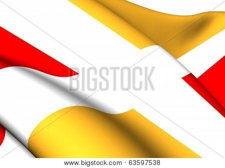 Flag Of Aix-en-Provence
