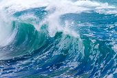 stock photo of sunny beach  - Picture of Ocean Wave - JPG