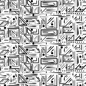 seamless pattern. endless abstract background. Rasterized Copy