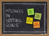 image of goal setting  - common mistakes in setting goals  - JPG