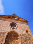picture of chopin  - Church in Valldemossa on Mallorca Balearic Islands Spain - JPG