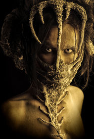 pic of creatures  - Frightening mythical creature male - JPG