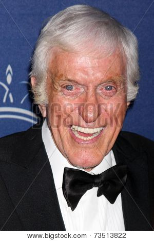 LOS ANGELES - OCT 8:  Dick Van Dyke at the Princess Grace Foundation Gala 2014 at Beverly Wilshire Hotel on October 8, 2014 in Beverly Hills, CA