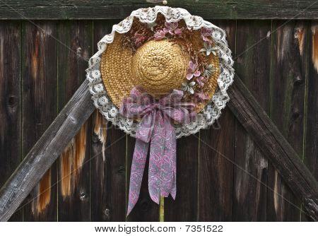 Straw Hat Decoration