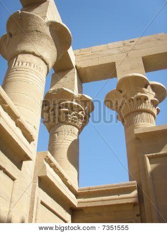 Temple of Philae Columns