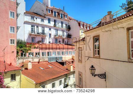 Cityscape In Lisbon, Portugal