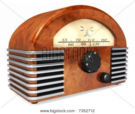 Art-deco Radio