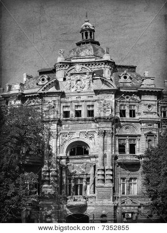Old Building, Odessa, Ucrania.