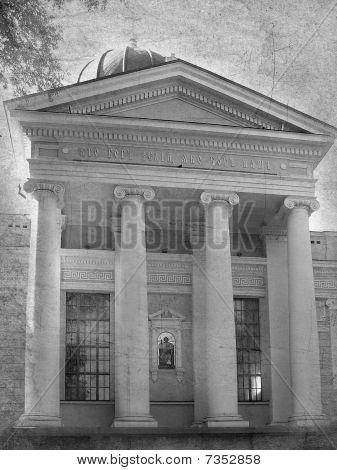 Edificio con columnas, Iglesia ortodoxa