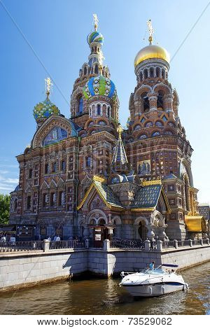 Orthodox Church Of The Savior On Spilled Blood, St. Petersburg