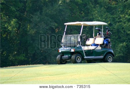 Loaded Golf Cart