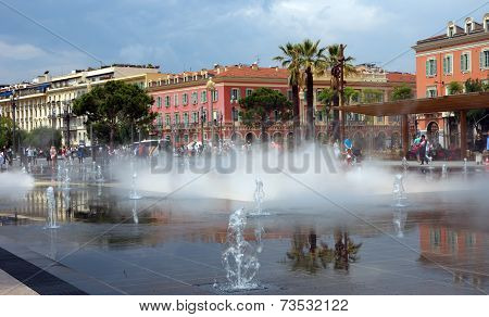 City Of Nice - Lovely Fountain