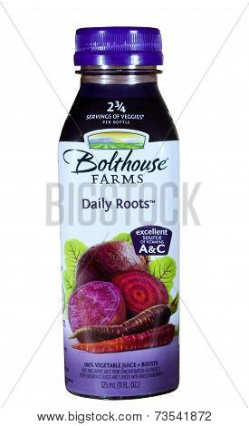Bottle Of Bolthouse Farms Daily Roots Juice