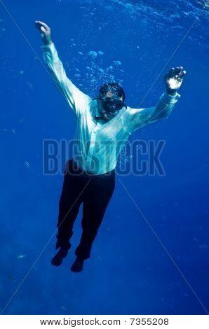 Descends Into Depths
