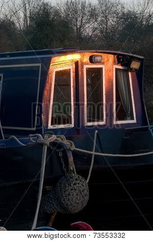 Narrow Boats, Kennet Canal, Uk