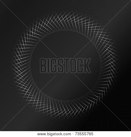 black pattern background