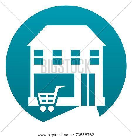 Shop Building Sign