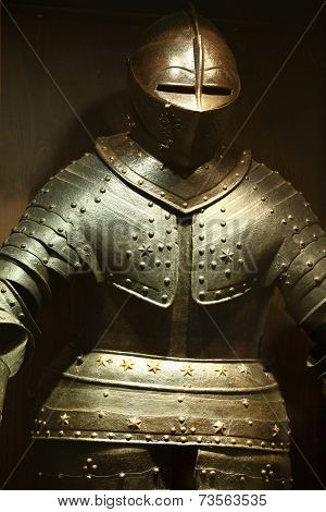steel knightly armor