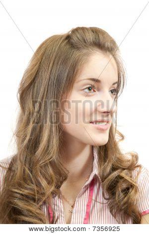 Blonde Long-haired Girl
